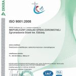 zdjęcie certyfikatu ISO ważny do 2018