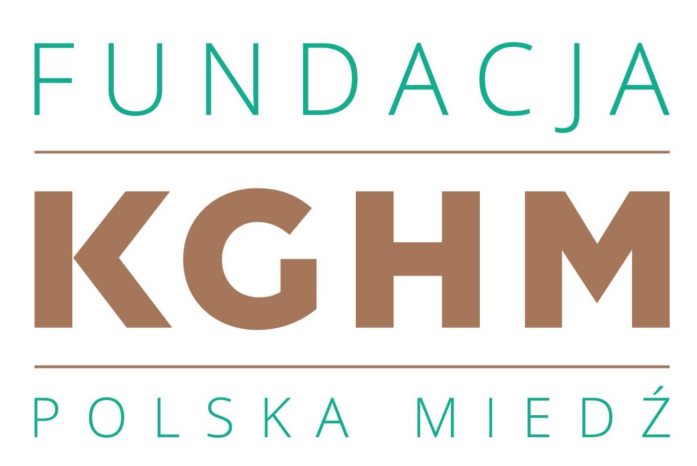 Logo Fundacji KGHM Polska Miedz