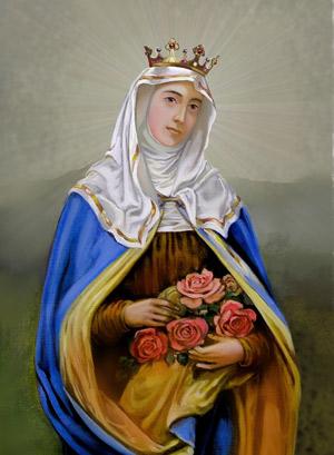 obraz Świętej Elżbiety